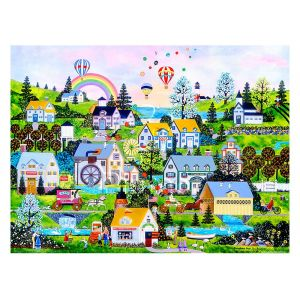 Pintoo Puzzle en Plastique - Jane Wooster Scott - Somewhere Over the Rainbow