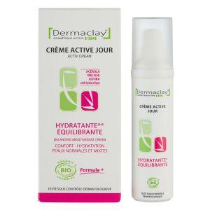 Dermaclay Crème de jour Hydratante Equilibrante 50ml