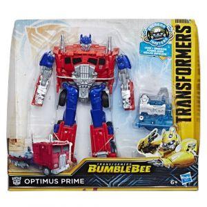 Hasbro Figurine Energon Igniters 17,5 cm - Transformers Bumblebee - Optimus Prime