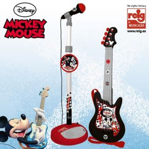 Reig Musicales Set guitare et micro Mickey Mouse