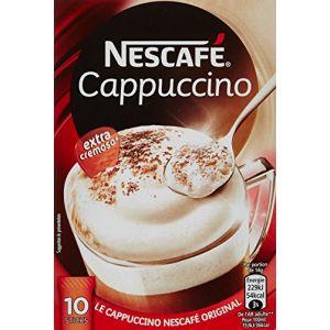 Nescafe Cappuccino Boîte de 10 Sticks 140 g