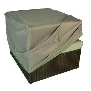 Innovaxe Housse de protection pour fauteuil L.75 x l.75 x H.60 cm
