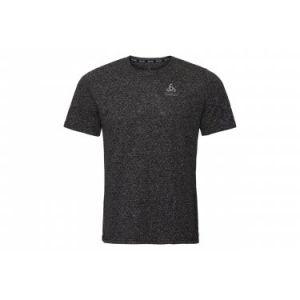 Odlo BL Millennium Linencoo - T-shirt course à pied Homme - noir L T-shirts course à pied