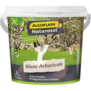 Algoflash Naturasol blanc arboricole antiparasite seau de 3L