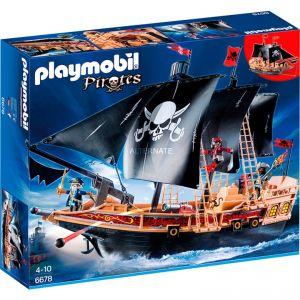 Playmobil 6678 Pirates - Bateau pirates des ténèbres