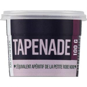 Monoprix Tapenade, préparation à base d'olives noires, de câpres, d'anchois et d'huile d'olive