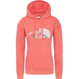The North Face Sweatshirts Light Drew Peak Hoodie - Spiced Coral - Taille M