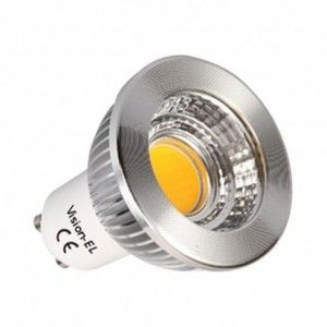 Vision-El Spot Led 6W (55W) dimmable GU10 Blanc jour -