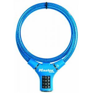 Master Lock Câble antivol à combinaison 90 cm pour vélo
