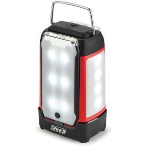 Coleman Dual Panel Lantern, black/red Lanternes & Torches