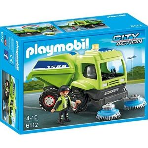 Playmobil 6112 City Action - Balayeuse de ville