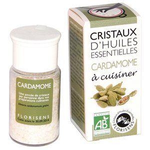 Aromandise Cristaux d'Huiles Essentielles Bio Cardamome 20g