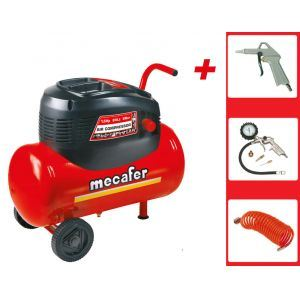 Mecafer 425095 - Compresseur Oil Impact Air 24L 1.5HP