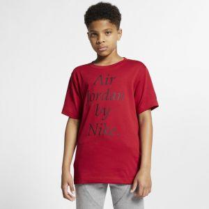 Nike Tee-shirt Jordan Sportswear pour Garçon plus âgé - Rouge - Taille S - Male
