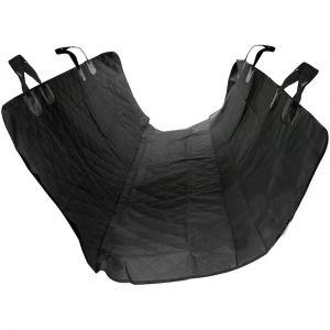 Pawhut Housse de siège pour chien protection de banquette siège arrière imperméable anti-rayures taille universelle 1,47L x 1,37l m noir
