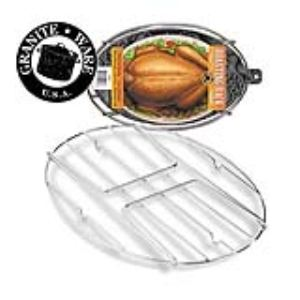 Graniteware Grille pour cocotte ovale Roaster