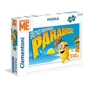 Clementoni Puzzle Minions Paradise (500 pièces)