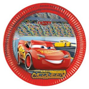 Procos 8 assiettes Cars 3