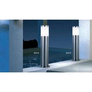 Globo Lighting Lampe d'extérieur Globo XELOO Acier inoxydable, 1 lumière Moderne/Design Extérieur XELOO