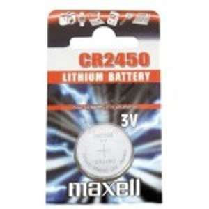 Maxell Pile bouton CR2450 - 3V