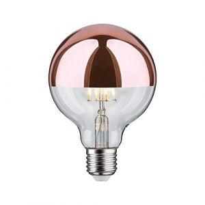 Paulmann Globe 95mm calotte cuivre filament LED 7.5W E27
