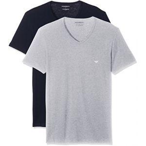 Emporio Armani T-shirts Emporio-armani 111648 Cc722 - Navy Blue / Heather - M
