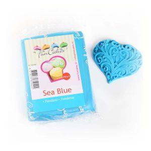 FunCakes Pâte à sucre - bleu - 250g