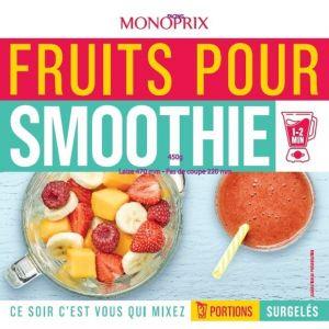 Monoprix Fruits pour smoothie