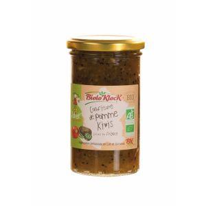 Biolo'klock Confiture EXTRA Pommes Juliet - kiwi 300g