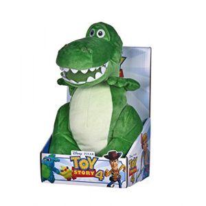 Posh Paws International 37271 - Peluche Disney Pixar Story 4 Rex - Coffret Cadeau - Multicolore