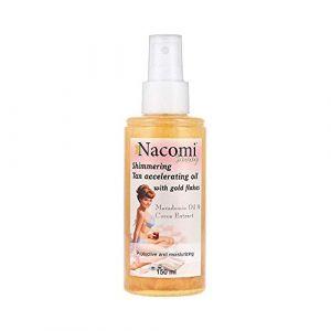 Nacomi Shimmering tan accelerating oil