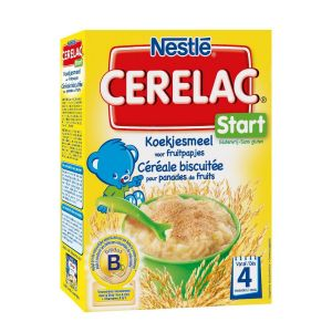 Nestlé Cerelac Start Céréale biscuitée 300 g - dès 4 mois