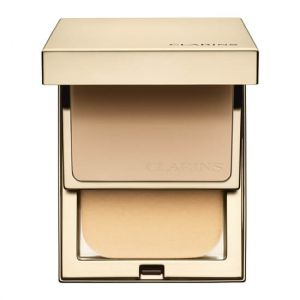 Clarins Everlasting Compact 110 Honey - Fond de teint haute tenue & Confort SPF 9