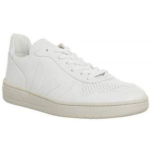 Veja Baskets basses - Homme - Sneakers V10 Cuir Blanc pour homme - 45