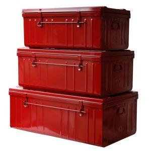 boite rangement rouge metal comparer 132 offres. Black Bedroom Furniture Sets. Home Design Ideas