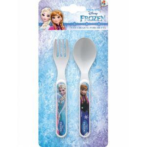 Couverts en plastique La Reine des Neiges