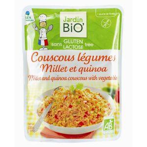 Jardin Bio Couscous légumes millet quinoa sans gluten