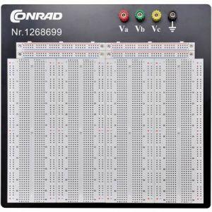 Tru Components Platine enfichable 0165-40-1-32044 1268699 Nbr total de pôles 3600 (L x l x h) 186.2 x 228.8 x 8.4 mm 1