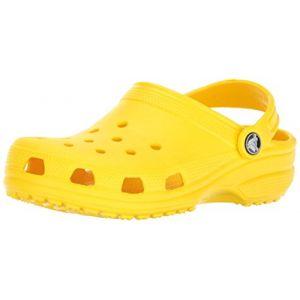 Crocs Classic Clog Kids, Sabots Mixte Enfant, Jaune (Lemon), 32-33 EU
