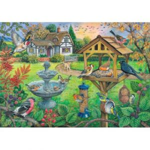 The house of puzzles Bird Table - Puzzle 500 Pièces Xxl