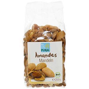Pural Amandes bio avec peau bio 250g