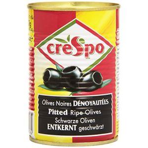 Crespo Olives Noires Dénoyautées La Boîte 387 G