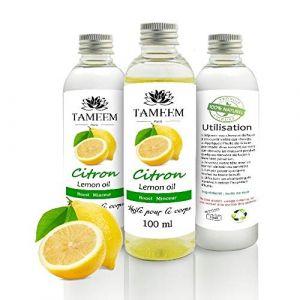 Tameem Huile pour le Corps - Citron - 100 ml