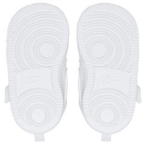 Nike Chaussure Court Borough Low pour Bébé et Petit enfant - Blanc - Taille 21 - Unisex