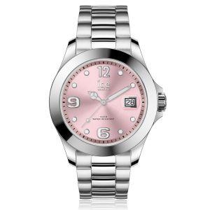 Ice Watch Ice-Watch - ICE steel Light pink - Montre argent pour femme avec bracelet en metal - 017320 (Small)