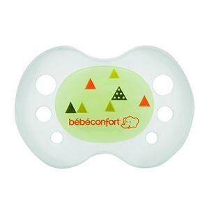 Bébé Confort 2 sucettes silicone réversible phosphorescente 6/36 mois