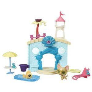 Hasbro Figurines Littlest PetShop Fête à la piscine