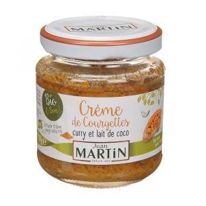 Jean martin Creme de courgettes curry et lait de coco