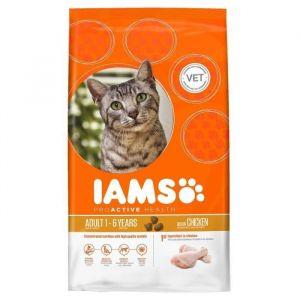 IAMS Nourriture pour chat adulte - Poulet - 15kg