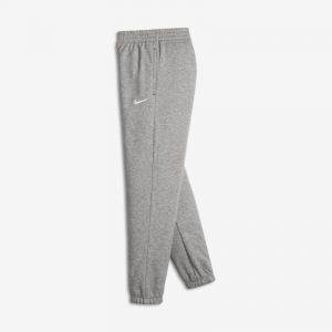 Nike Pantalon de survêtement Brushed-Fleece Cuffed pour Garçon - Gris - Taille M - Homme